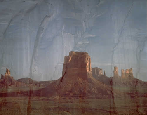 Rock Faces, Monument Valley